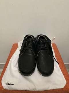 Visvim FBT Black Leather US9