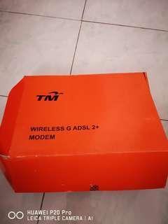 TM Modem Wireless G ADSL 2+