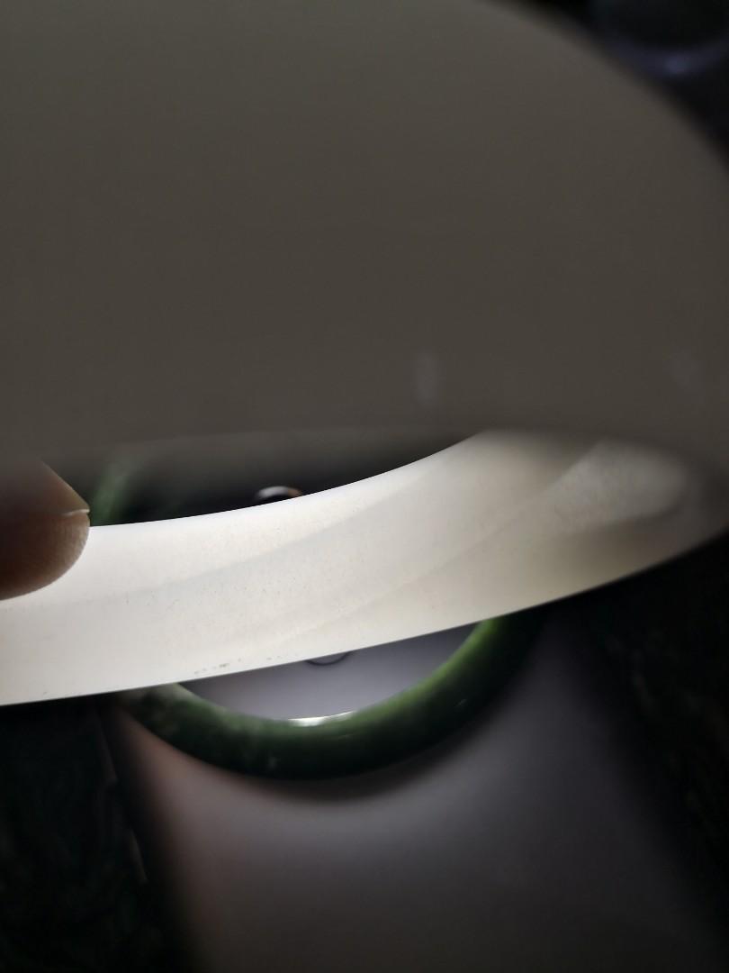 6.0透光冰種缅甸白玉手鐲