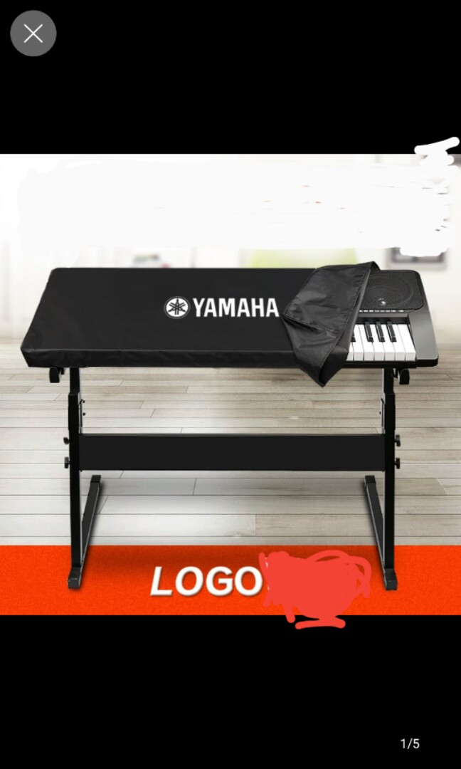 Terrific 61 Keyboard Cover With Yamaha Logo 102X45X15Cm Andrewgaddart Wooden Chair Designs For Living Room Andrewgaddartcom