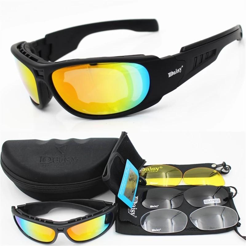 87b7cca7b2b2 🆕🆒 Polarized Tactical glasses Military Goggles Army Sunglasses ...