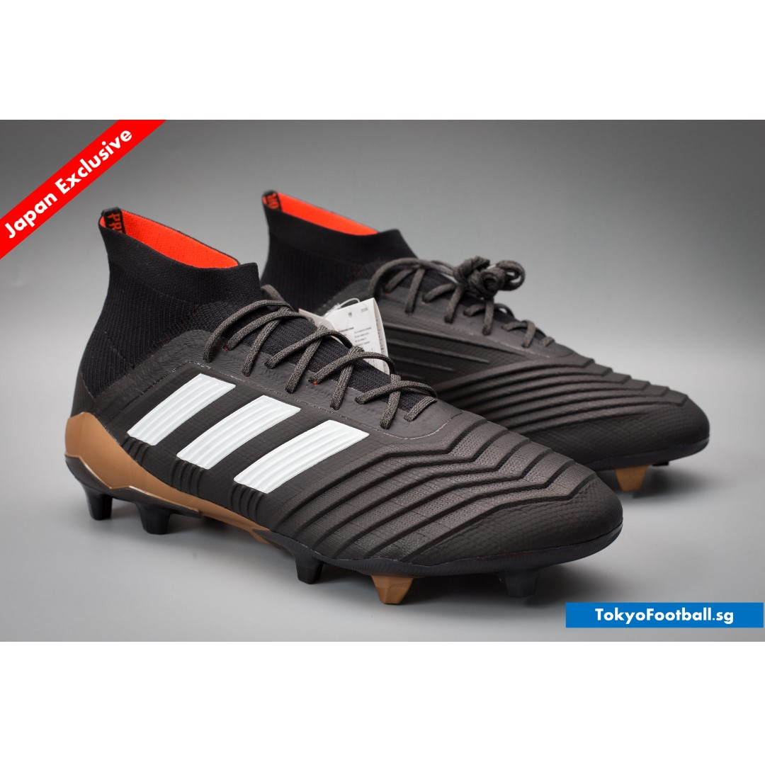 newest c8d22 e604f Adidas Predator 18.1 Primeknit FG/AG soccer football boots shoes