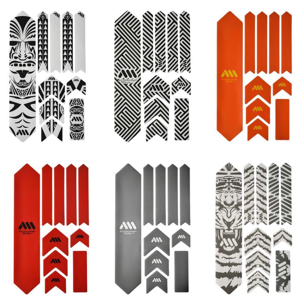 All Mountain Style (AMS) 車架保護貼 - XL Size。共有21款不同款式!!