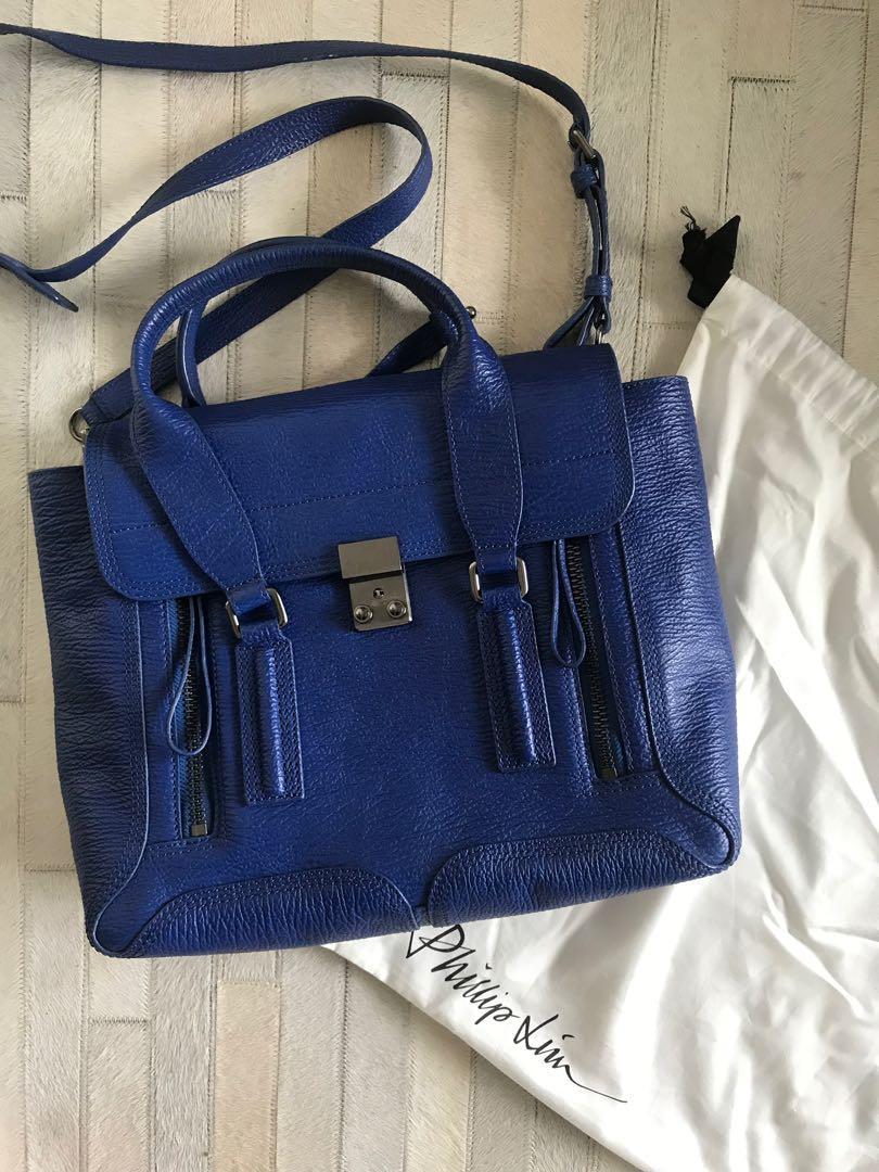 Authentic 3.1 Philip Lim Pashli Medium Leather Satchel