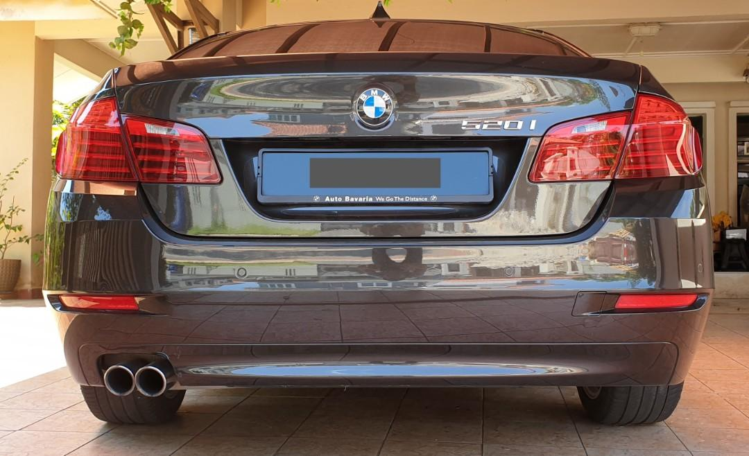 #SpareForFix BMW F10 5 series facelift bumper front and rear