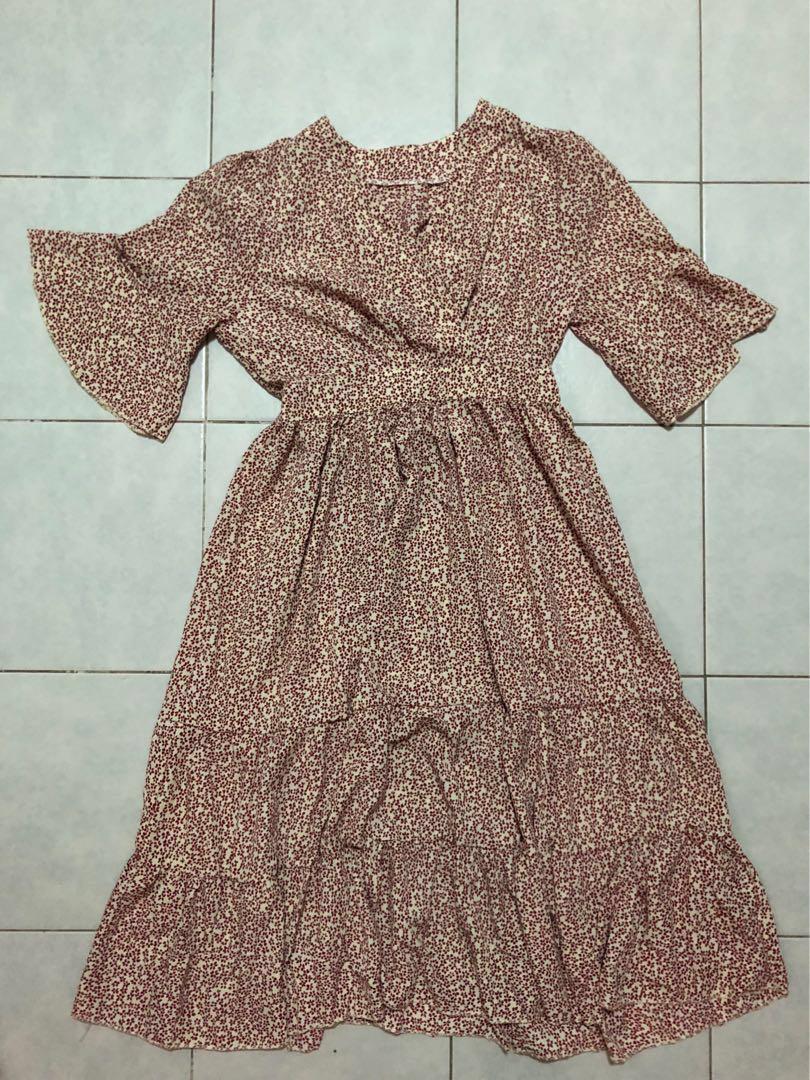 BN Floral Print Dress