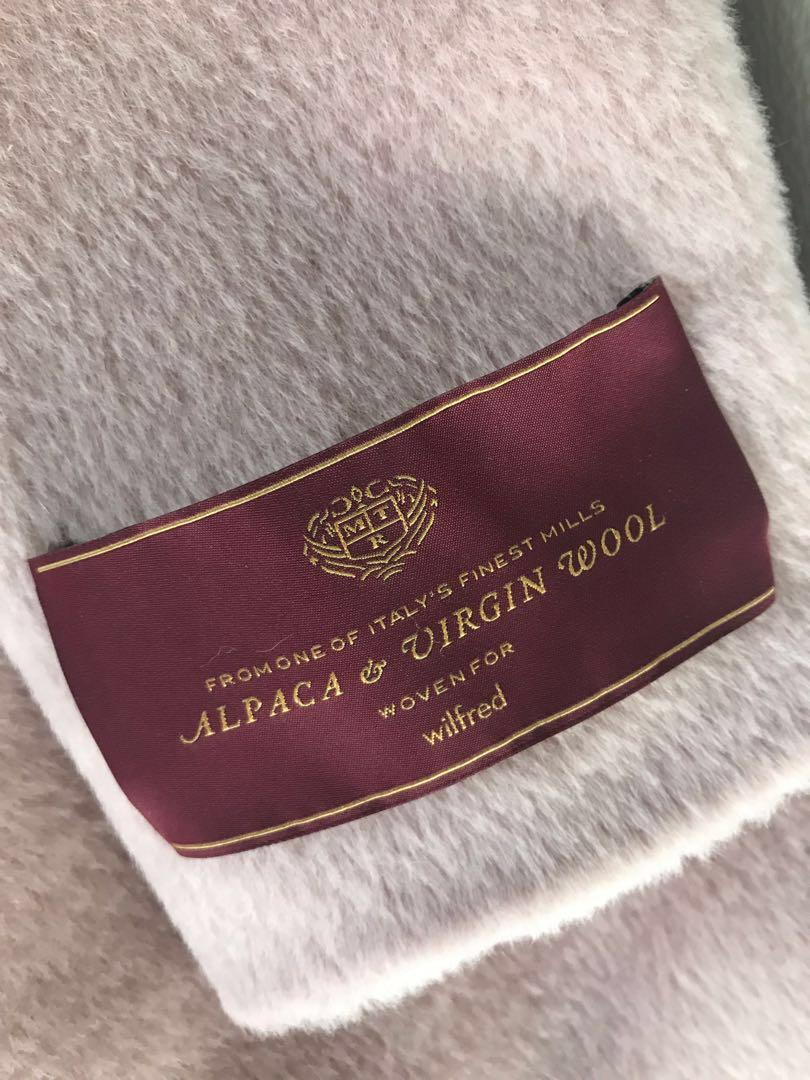 BRAND NEW with tags Wilfred Cocoon Alpaca Coat (size XXS)