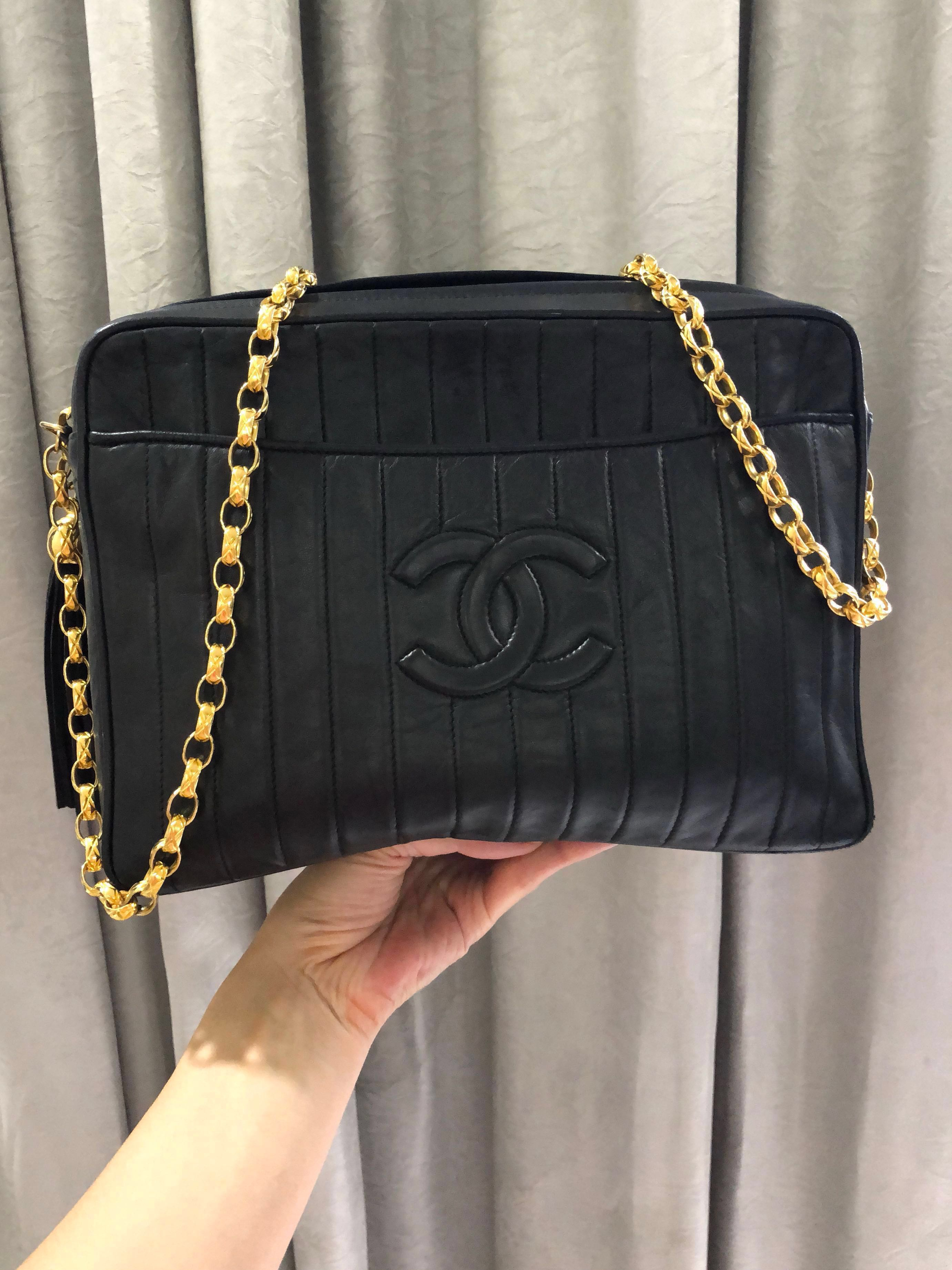 b40d4f438c97 Chanel Camera Bag with Bijoux Chain, Luxury, Bags & Wallets ...