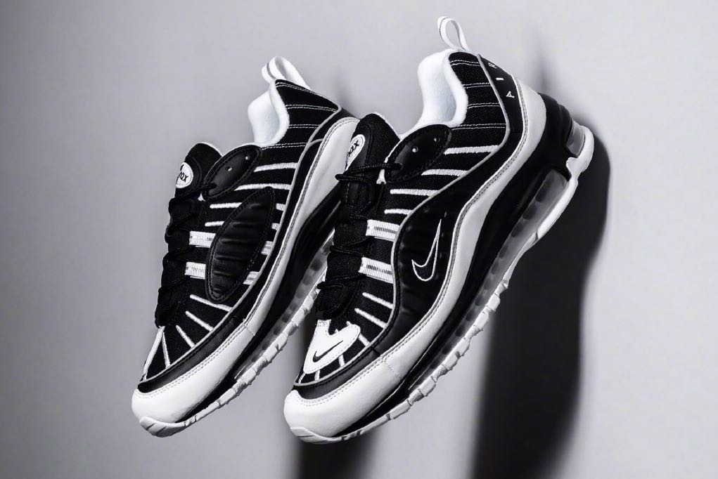 03bbf7653d cheaper than retail!) Nike Air Max 98 Oreo Black/White, Men's ...