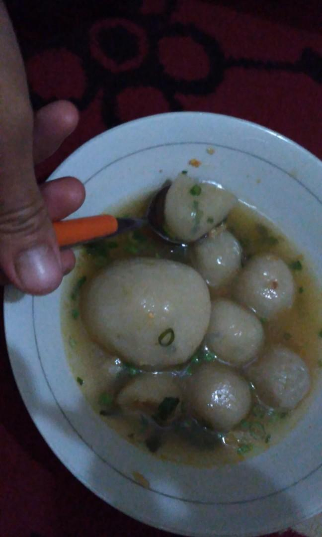 Cilok Kuah Granat Pedasssss Food Drinks Instant Food On