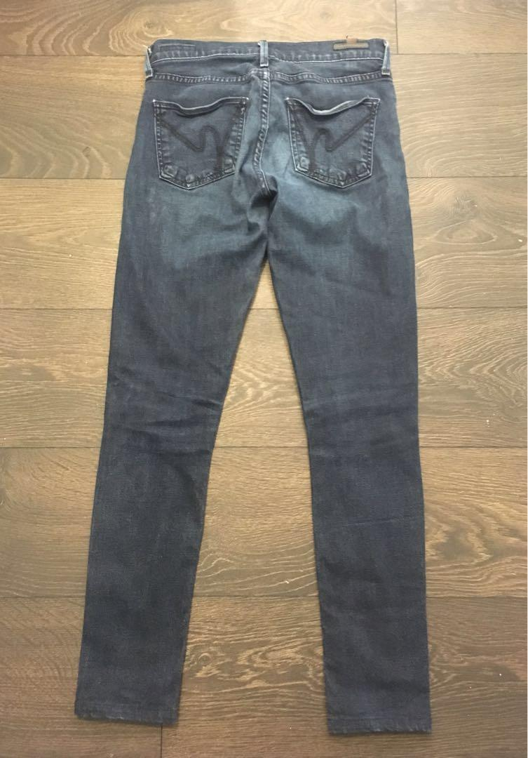 Citizens of Humanity Avedon Low Rise Skinny, size 26
