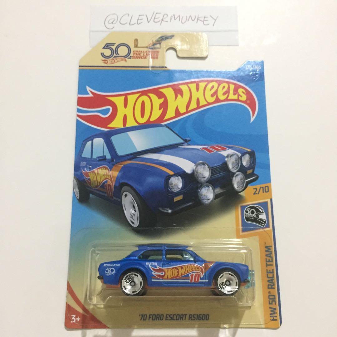 Hot Wheels 335/365 '70 Ford Escort RS1600