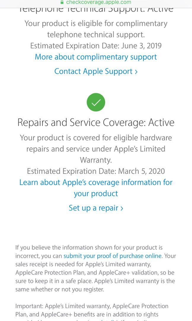 iPhone 7 Plus 128GB (warranty 5/3/2020)