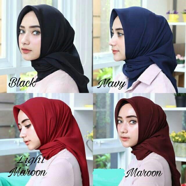 Jilbab Segi Empat Bella Square Segiempat Bella Hijab Bella Square Olshop Fashion Olshop Muslim Di Carousell