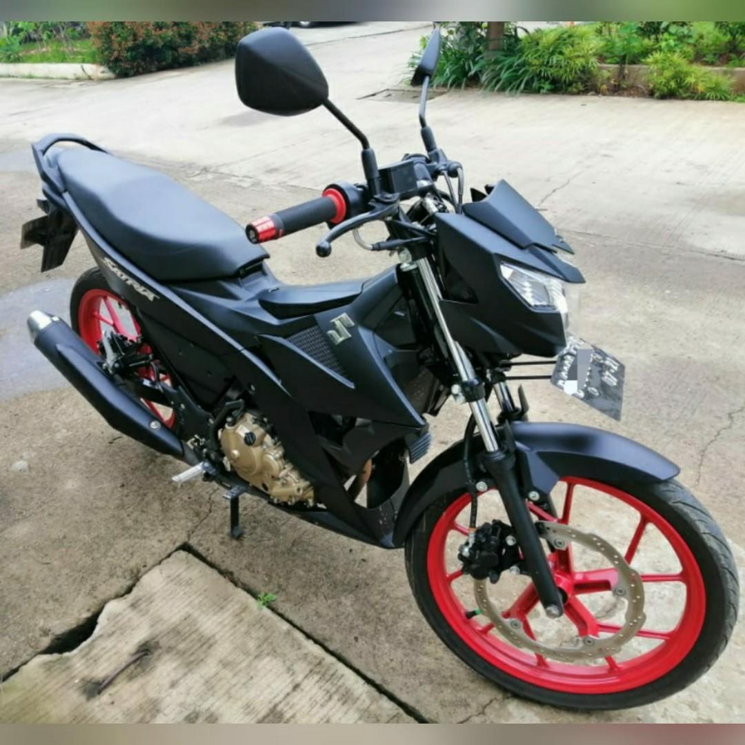 Jual cepat motor second suzuki satria fu 150cc th 2016