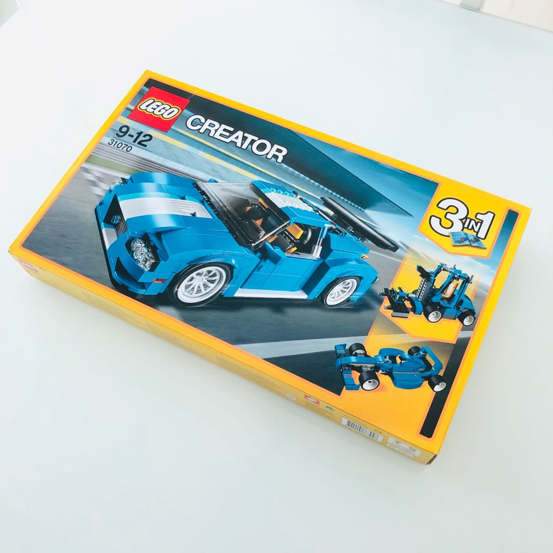 Lego 31070 Turbo Track Racer Toys Games Bricks Figurines On