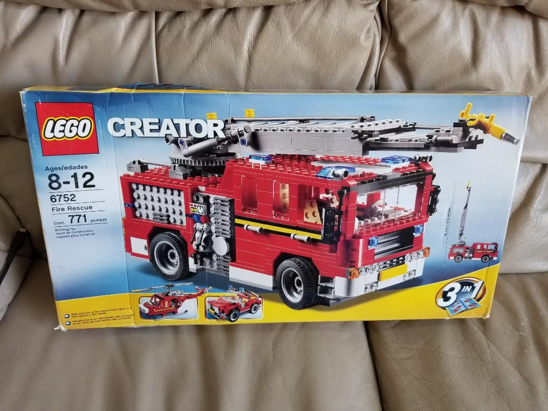 LEGO 6752 Fire engine set