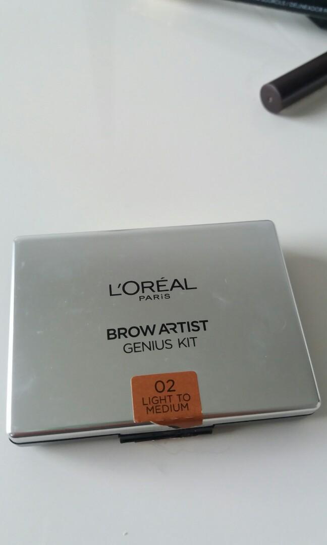 l'oreal brow artist genius kit #02 light to medium