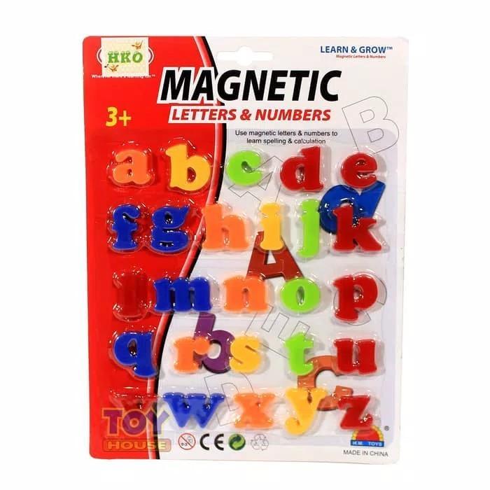Magnetic Letters Huruf Alphabet - Huruf Mika ABC