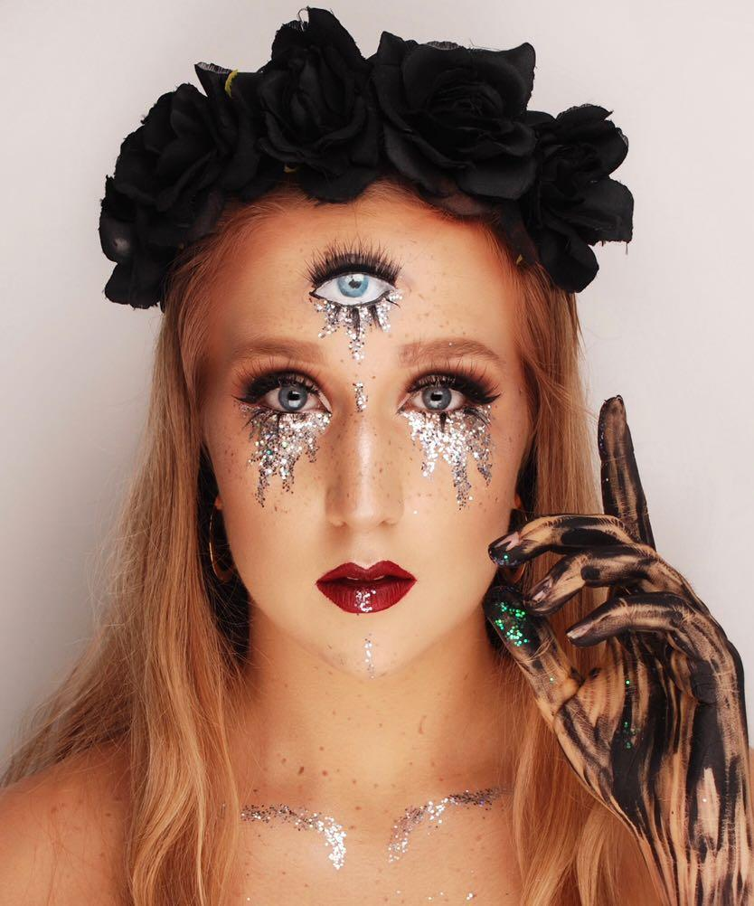 Halloween Fortune Teller Makeup.Makeup Artist Fortune Teller Look Halloween Health Beauty