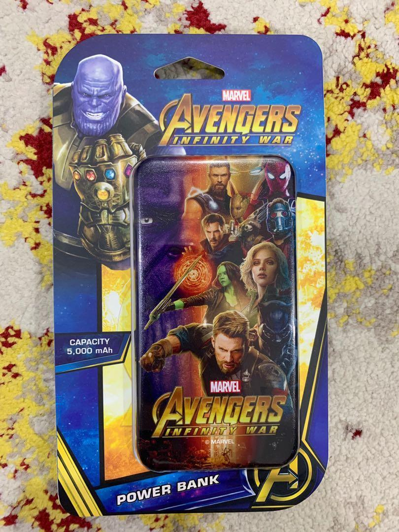 Marvel Petron Avengers Infinity Wars Original Power Bank