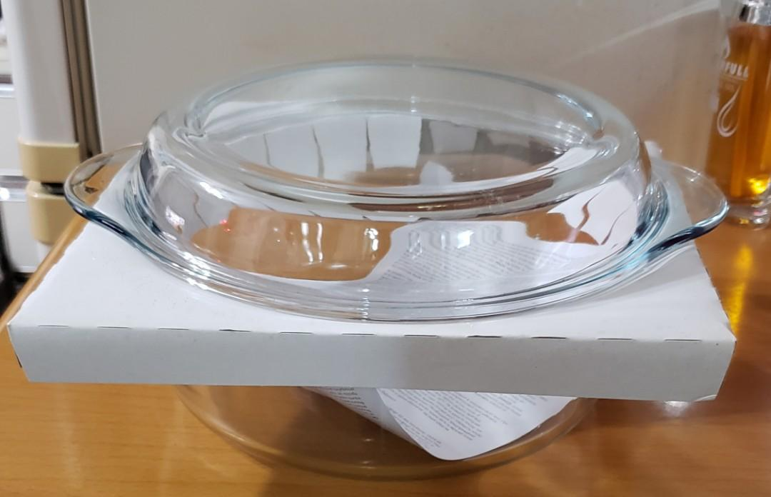 Master Chef 耐熱玻璃烤箱器皿圓形鍋 2.2L Round Cassrole