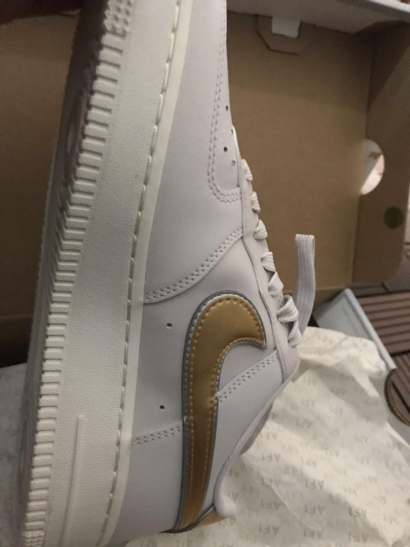 Nike Air Force 1 07' metallic