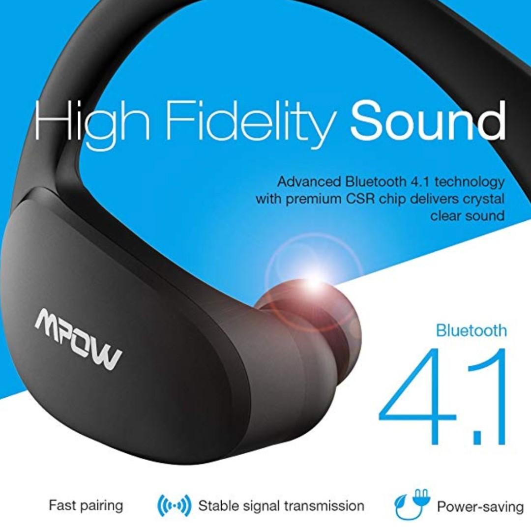 cea8bfc1617 P15 Mpow Cheetah Bluetooth Headphones IPX5 Waterproof & 8-Hour ...