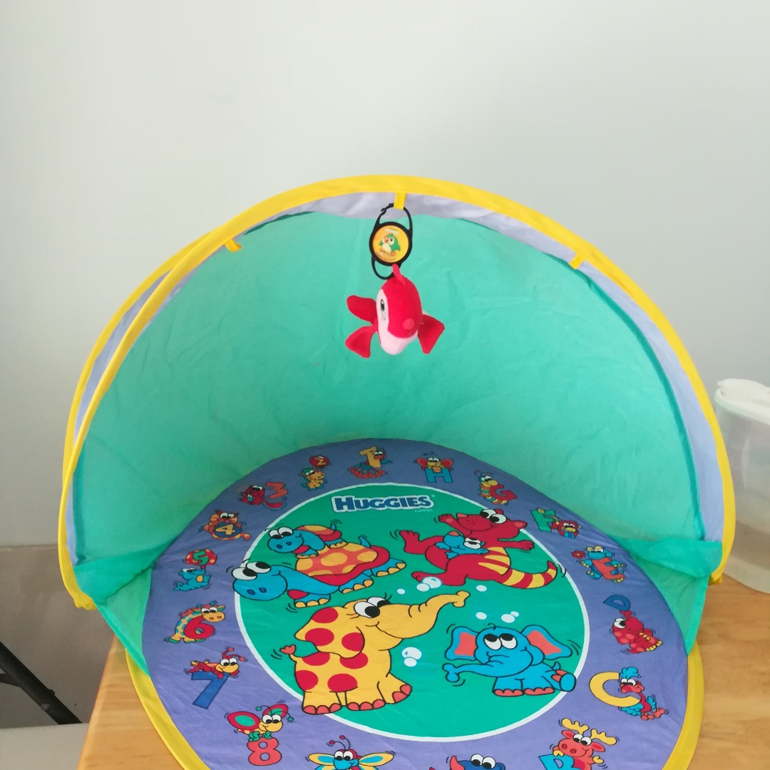 Pop Up Shade For Baby's Nappies Change/Sleeping/Outing/Picnic