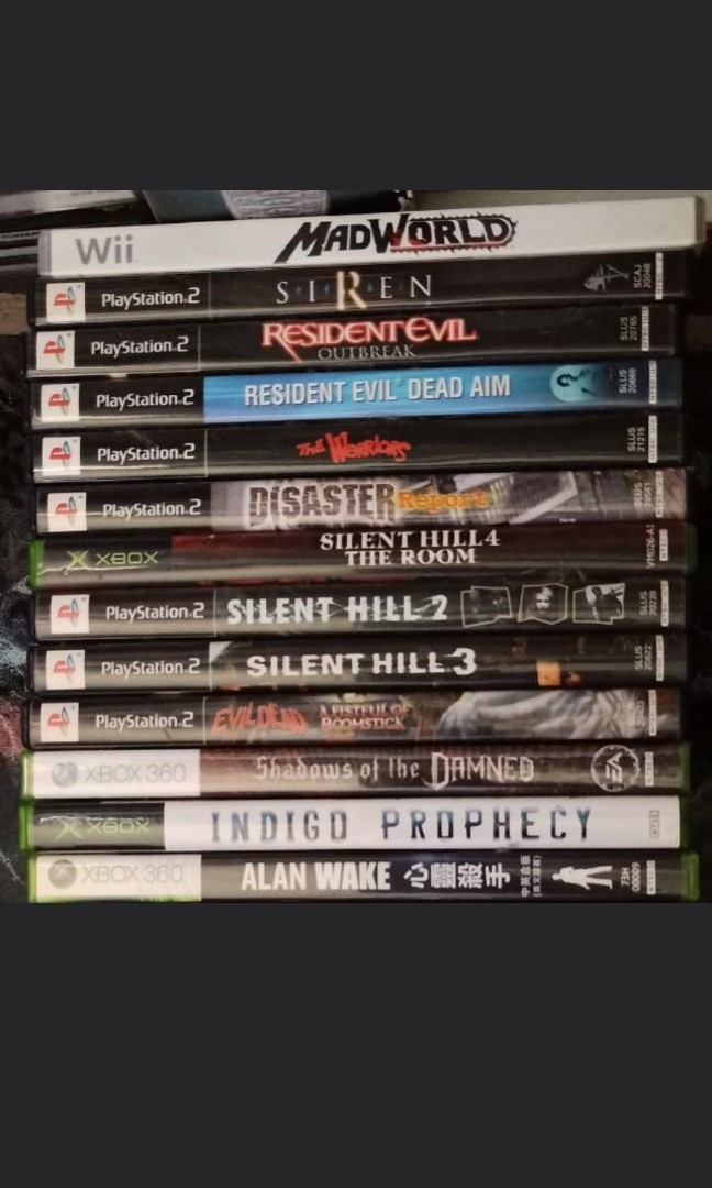 PS2 , XBOX, XBOX 360 & WII GAMES , Toys & Games, Video Gaming, Video