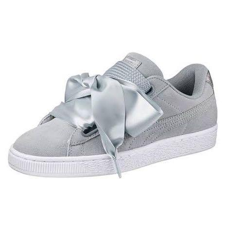 Puma Suede Heart Safari Bow Shoes Size 36 BRAND NEW (2 Sets of Laces)
