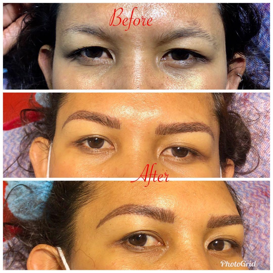 Semi permanent make up