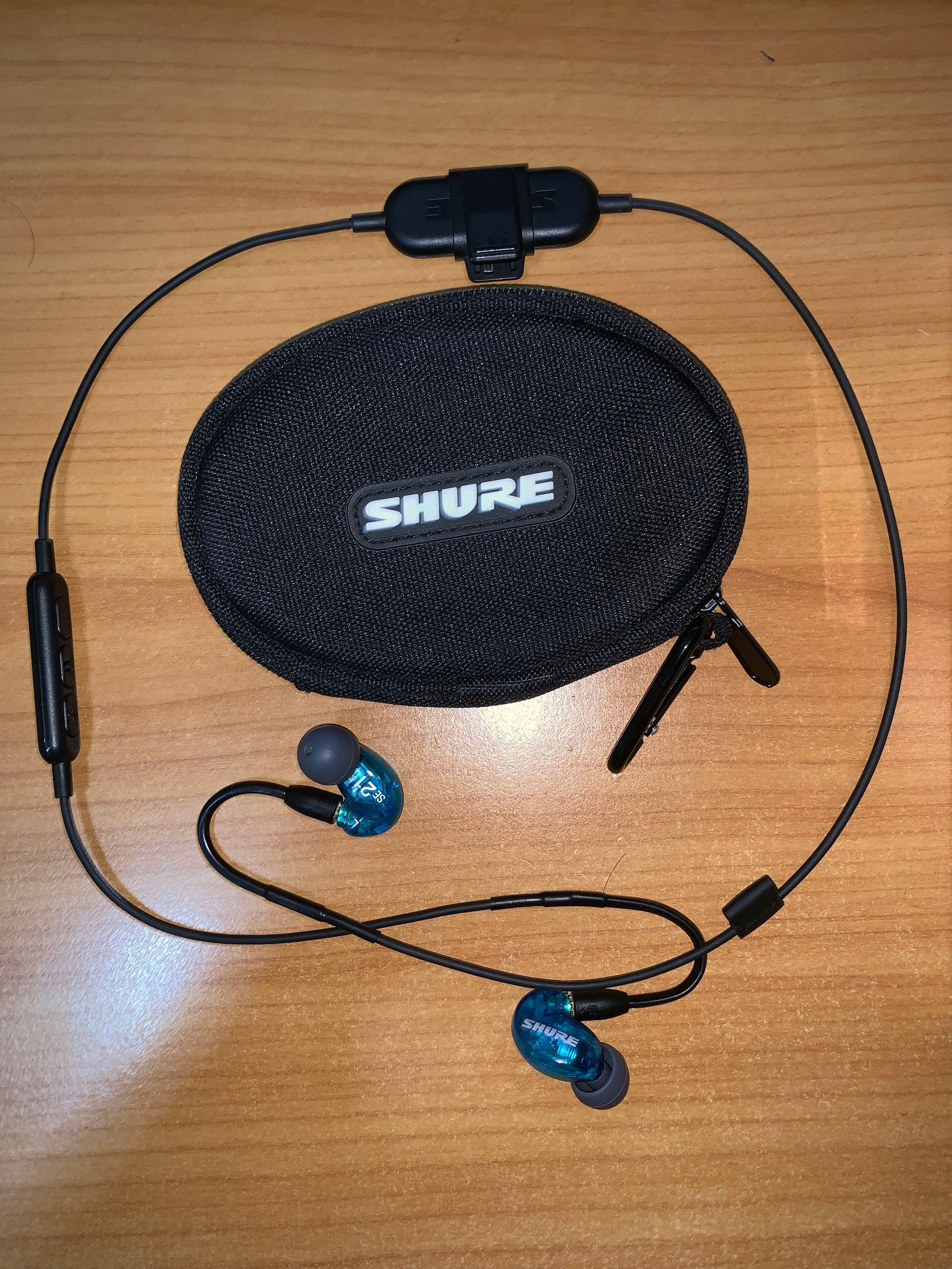 0ecee764226 Shure SE215 Wireless (Special Edition), Electronics, Audio on Carousell