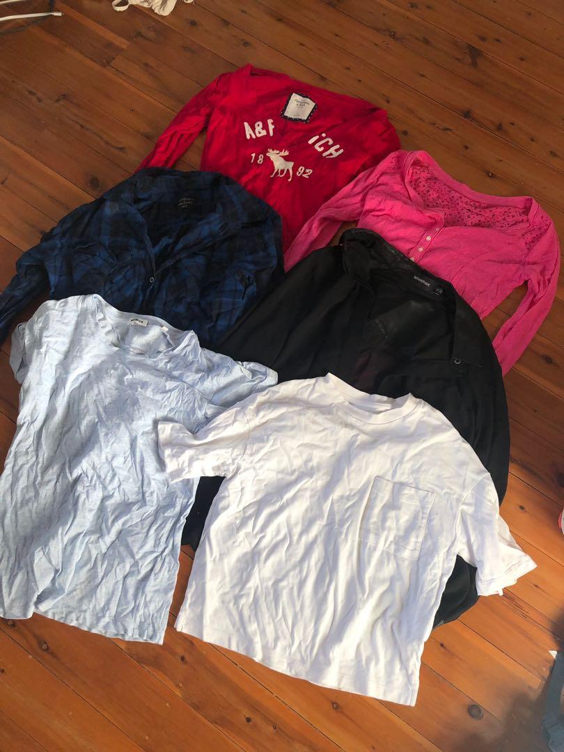 Size 6-8 women's tops dresses