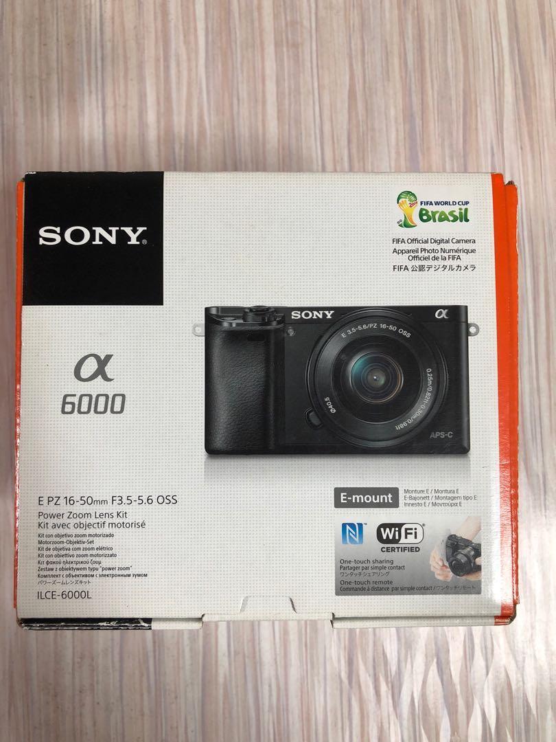 Sony a6000 + kit lens 16-50mm