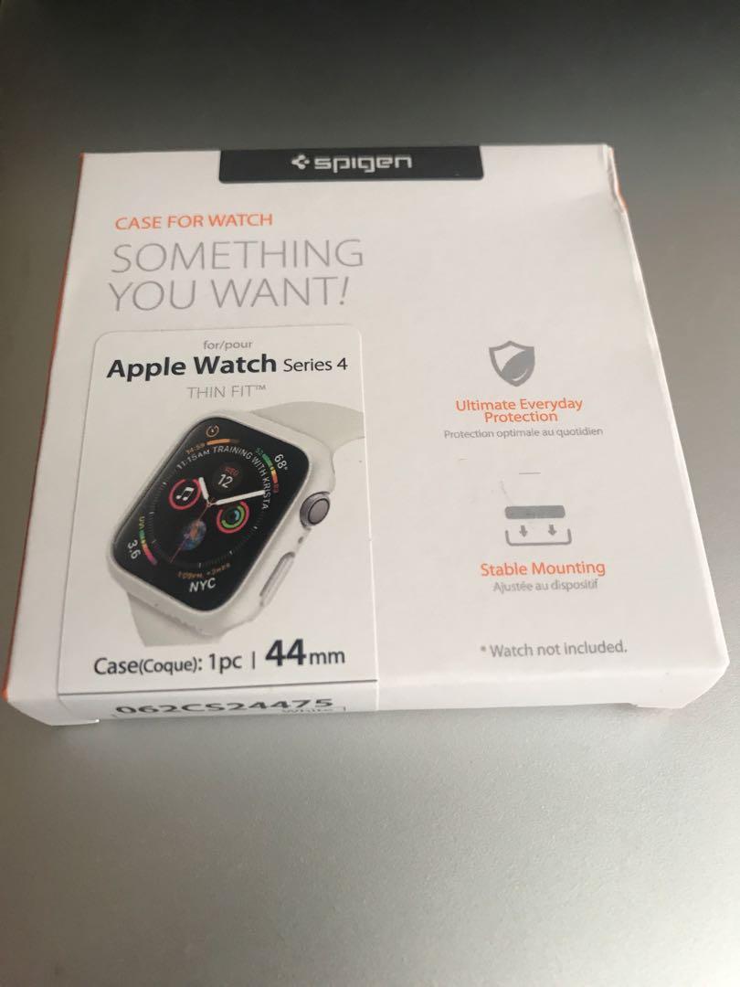 sale retailer 3b35f 2e444 Spigen thin fit Apple Watch 44m case