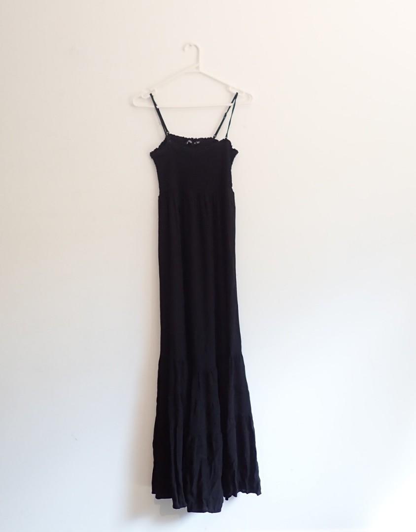 Sports girl,  size 14au black maxi casual/boho dress