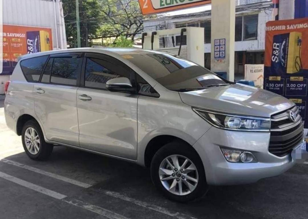 Toyota Innova 2019 Assume balance. Para sa hindi ma approve sa banko