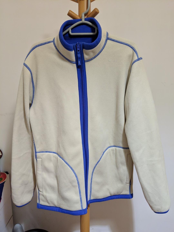 Uniqlo reversable polar fleece