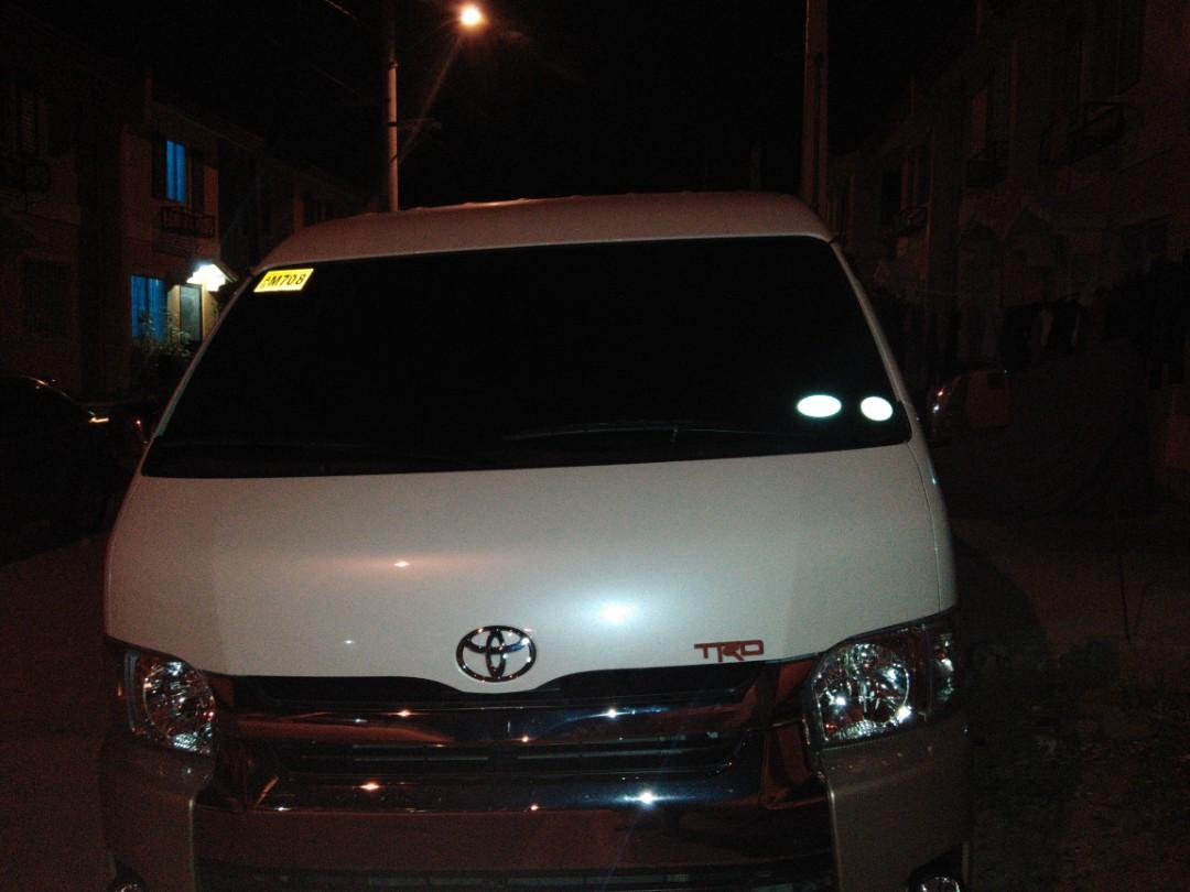 Van for rent,.accept all trips, mmanila and provincial trips, call,txt or pm,..09554629634