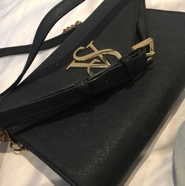 Victoria Secret Black Crossbody Bag