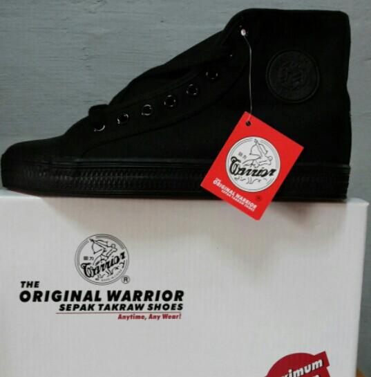 Warrior Highcut Black