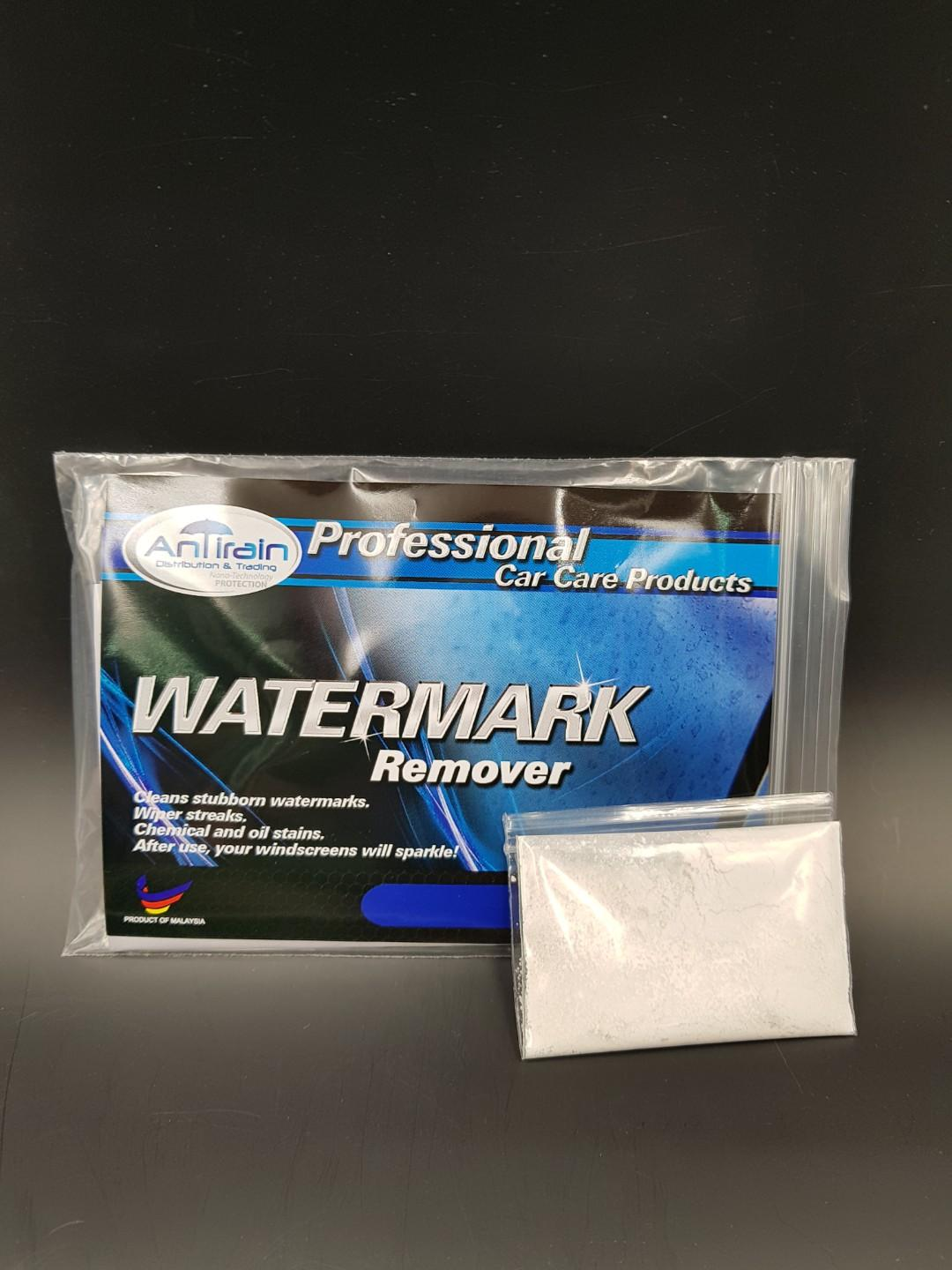 Watermark remover for Glass Panel (DIY)