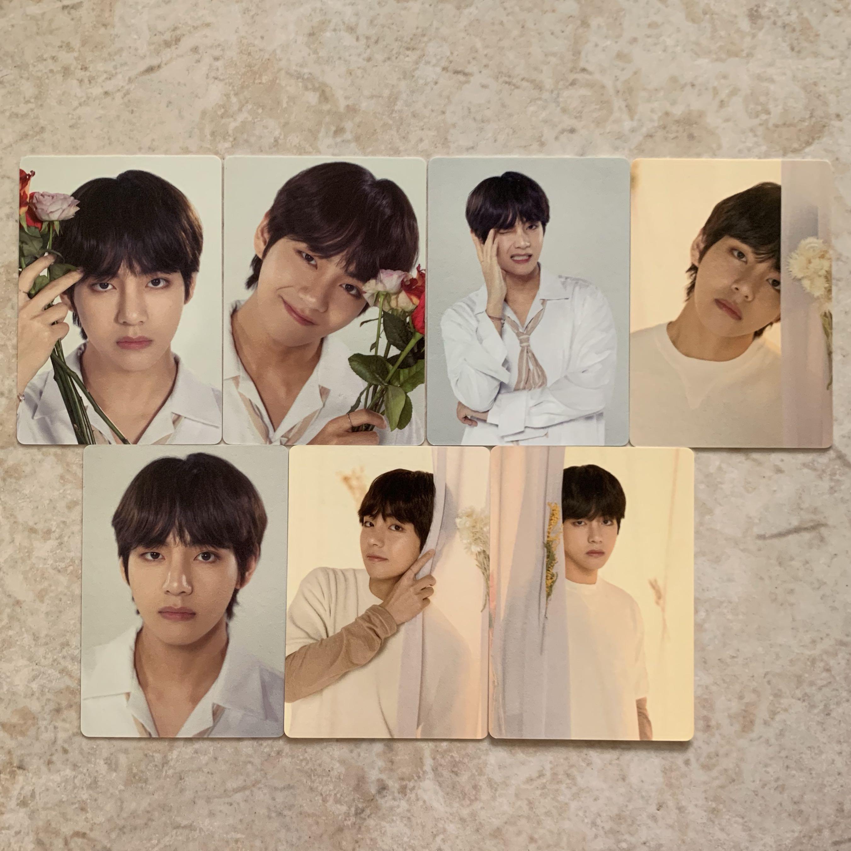 wts bts love yourself tour in koreainternational taehyung 7pcs mini photocard set 1552354759 d4bce973 progressive