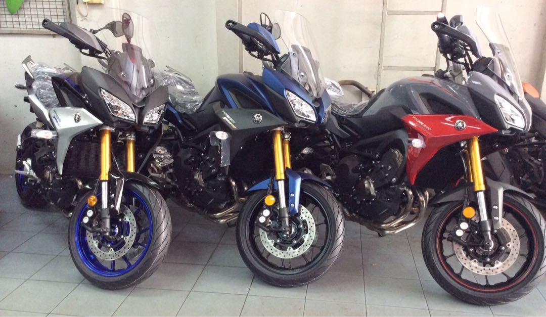 Yamaha Mt 09 Tracer Gt Motorbikes Motorbikes For Sale Class 2 On