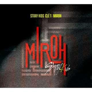 [PREORDER] Stray Kids - Cle 1 Miroh Standard Version (4th Mini Album)