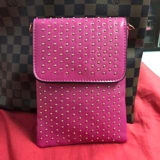 Pink Vintage Sling Bag