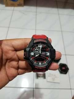 G-shock ga 1000 merah original