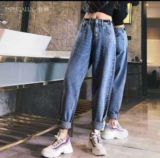 🚚 BNWT denim Wide legged pants
