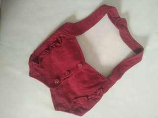 Preloved Rompi Merah Cantik